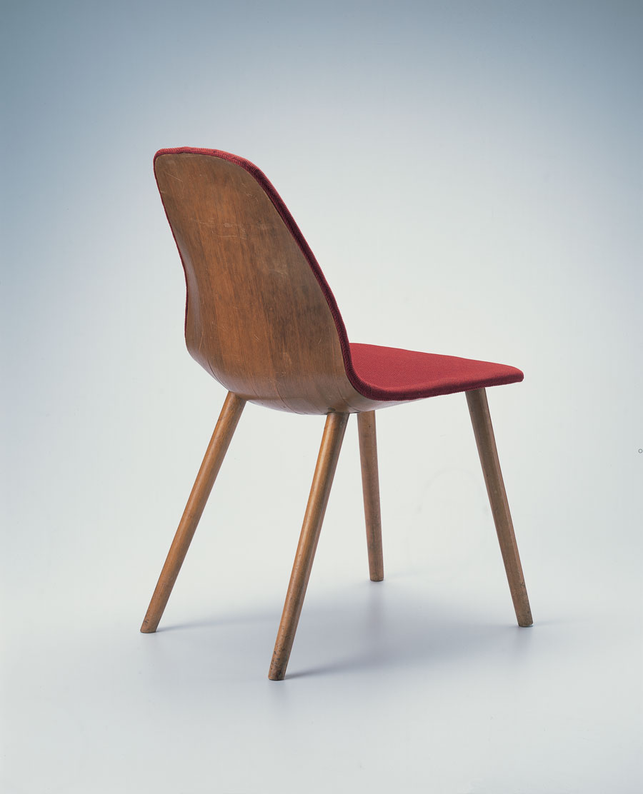 Bent plywood chair eames - Eero Saarinen And Charles Eames Side Chair