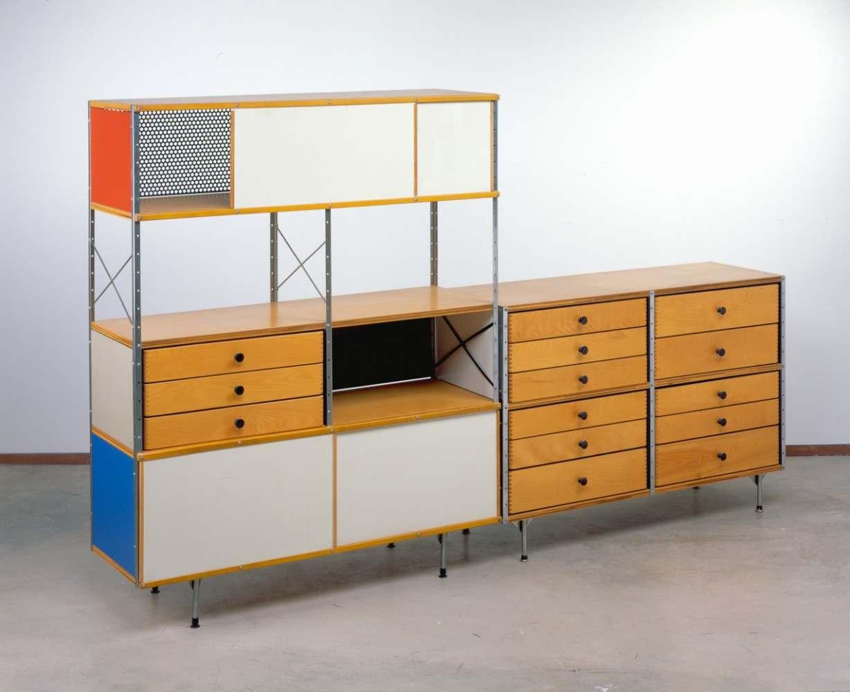 cranbrook art museum - charles and ray eames – esu (eames storage units)
