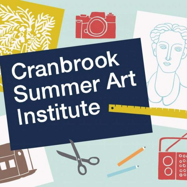 Cranbrook Summer Art Institute poster