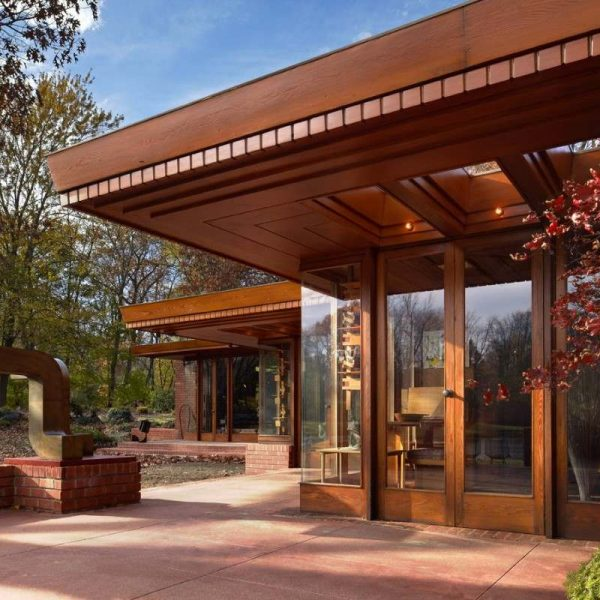 Frank Lloyd Wright's Smith House Tour