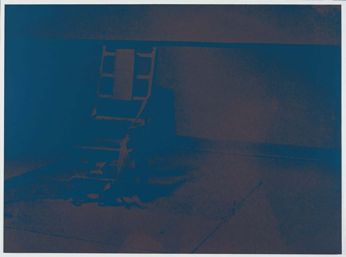 Electric chair andy warhol - Andy Warhol Electric Chair 1971
