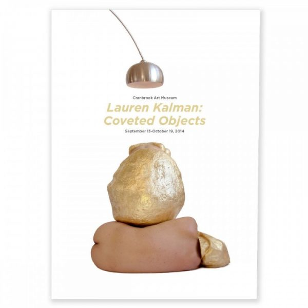 Lauren Kalman exhibit catalog cover