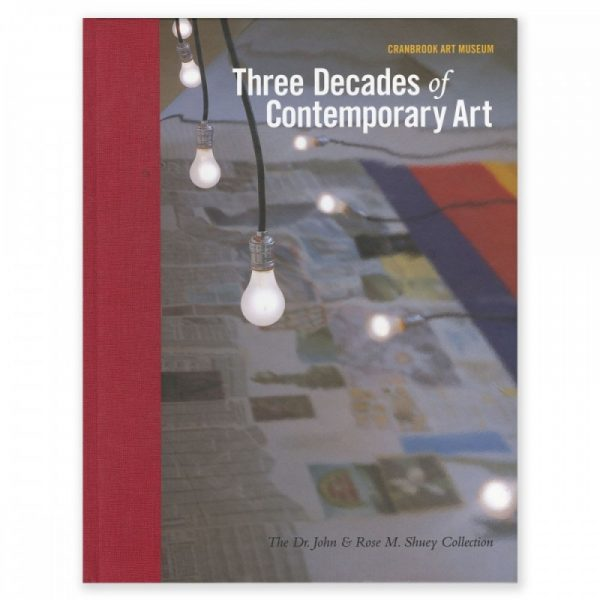 Three Decades of Contemporary Art catalog cover