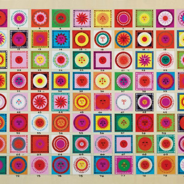 designs for matchboxes, Alexander Girard