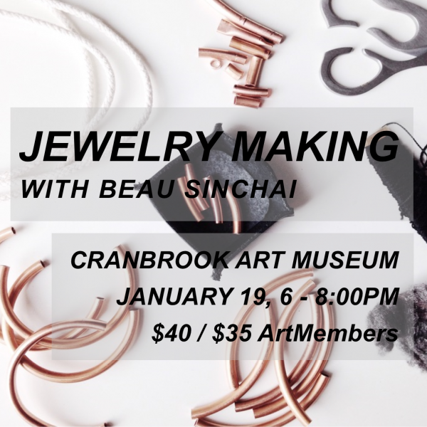 Jewelry Making digital event poster