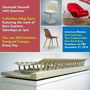 Collection Wing Tour featuring Eero Saarinen