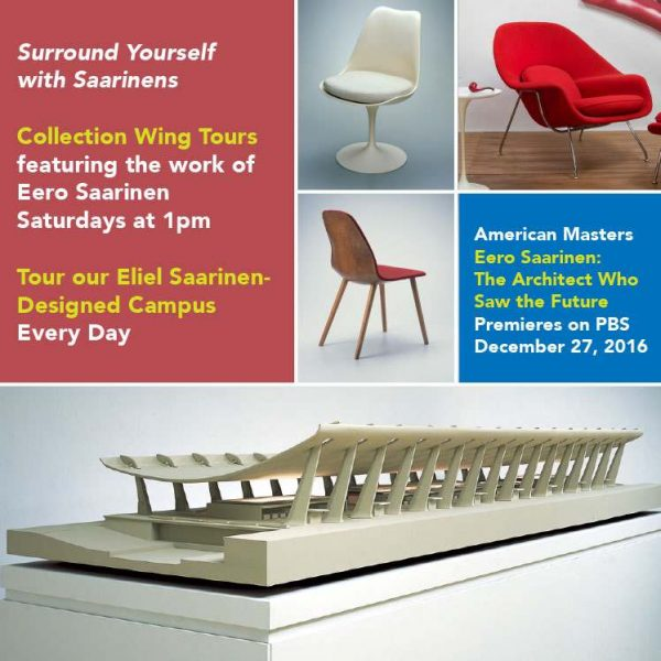 Collection Wing Tours digital poster with chairs