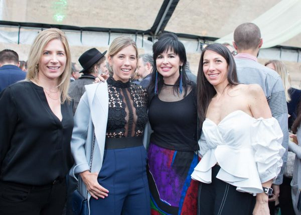 Four women pose for picture at Cranbrook Academy of Art benefit