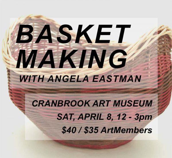 Basket Making digital event poster