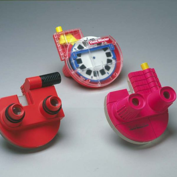 View Master stereoscopes and reels