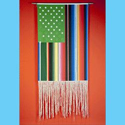 Victor De La Rosa vertical flag