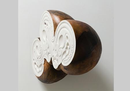 Ross Rudel sculpture, modern art