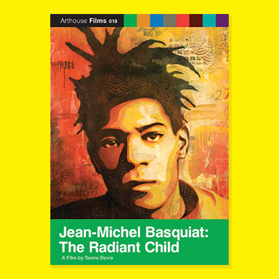 The Radiant Child film poster with yellow background