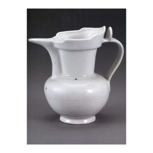 Huang Yangxing white ceramic teapot