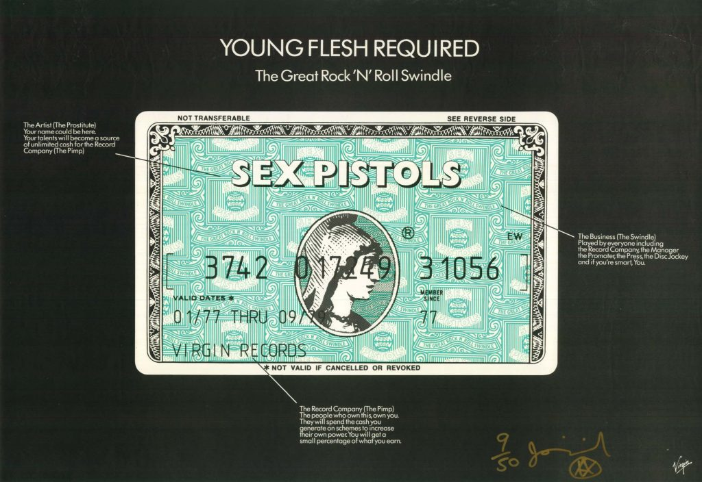 Sex Pistols-Young Flesh Required '79.