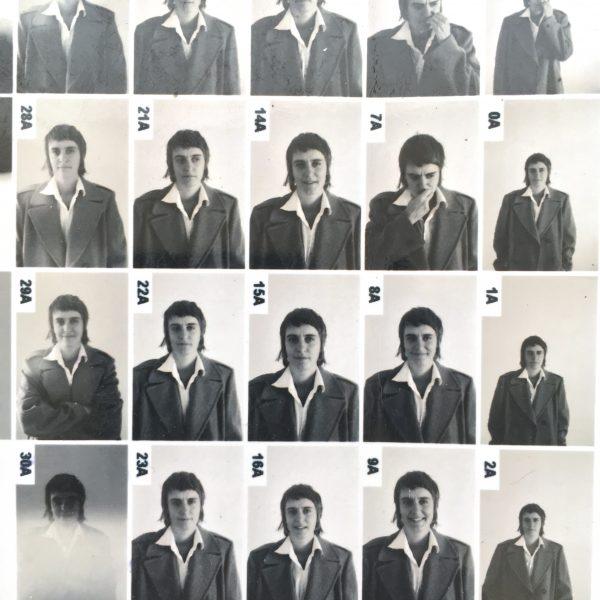 Mariah Garnett series of headshots with contrast