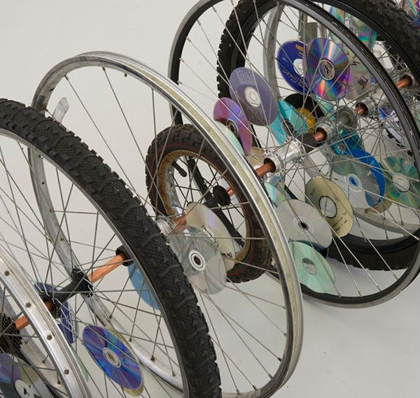 Bike wheels, Kori Newkirk
