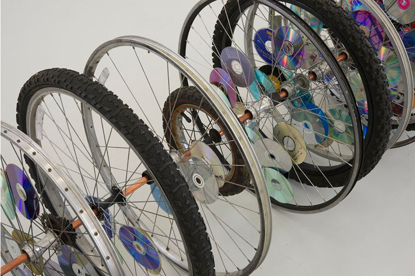 Bike wheels, Kori Newkirk