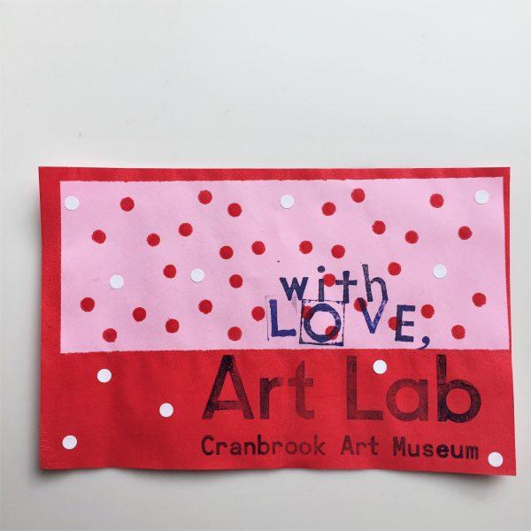 Valentine prints from Art Lab
