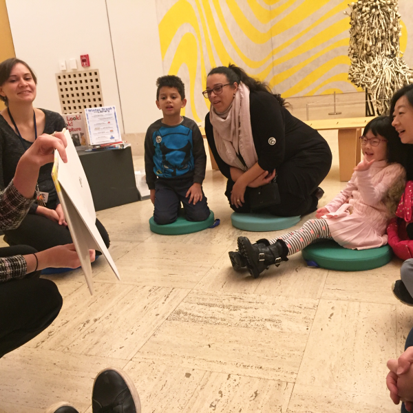 Listen, Look, Learn: Storytime at CAM