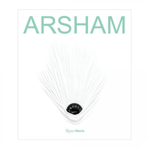 Arsham logo with clock