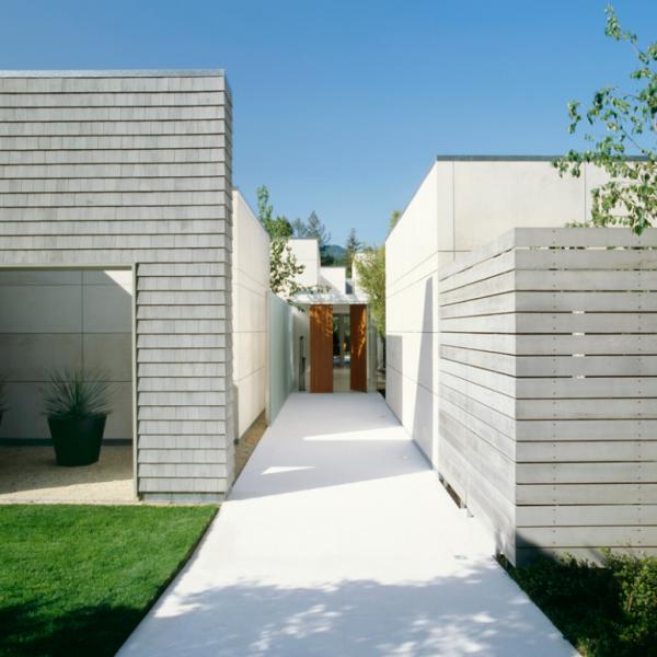 Dirk Denison, modern architecture, white