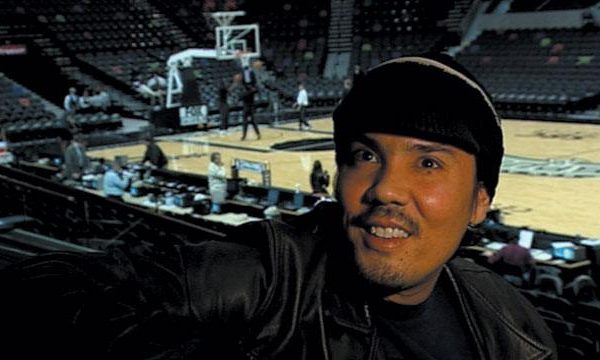 Paul Pfeiffer at basketball court