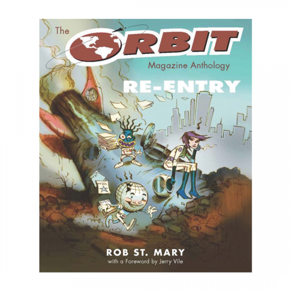 The Orbit Magazine Anthology, Rob St. Mary, Cover