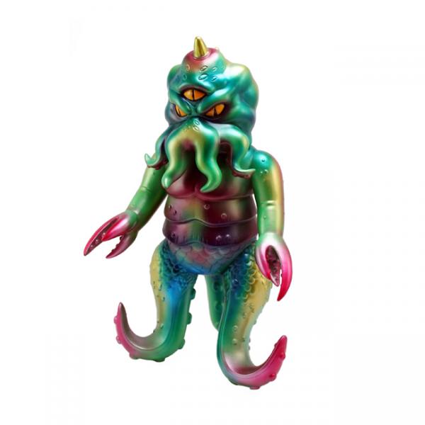 The Vinyl Frontier, Wild Vinyl, colorful octopus monster