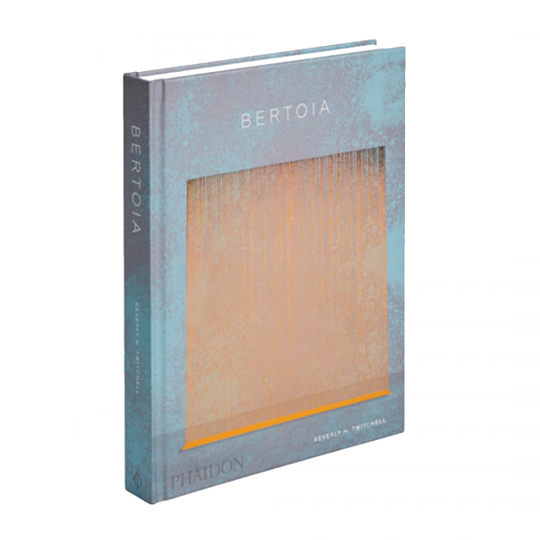 Bertoia book with blue and beige cover