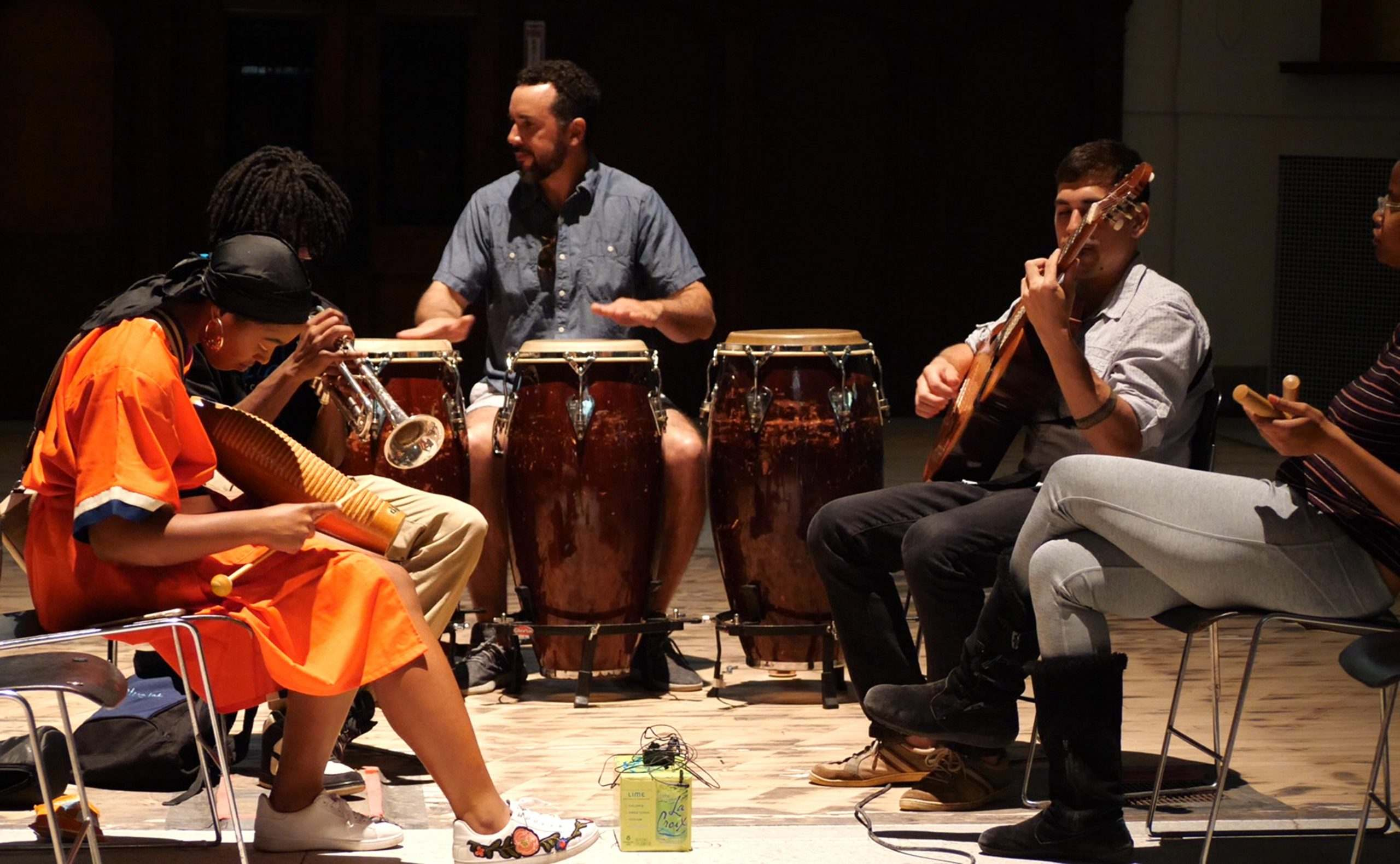 Alma(soul), performance by Susana Pilar and local musicians