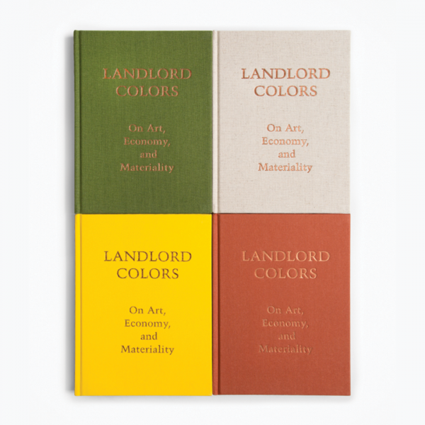 Landlord Colors exhibition catalogue