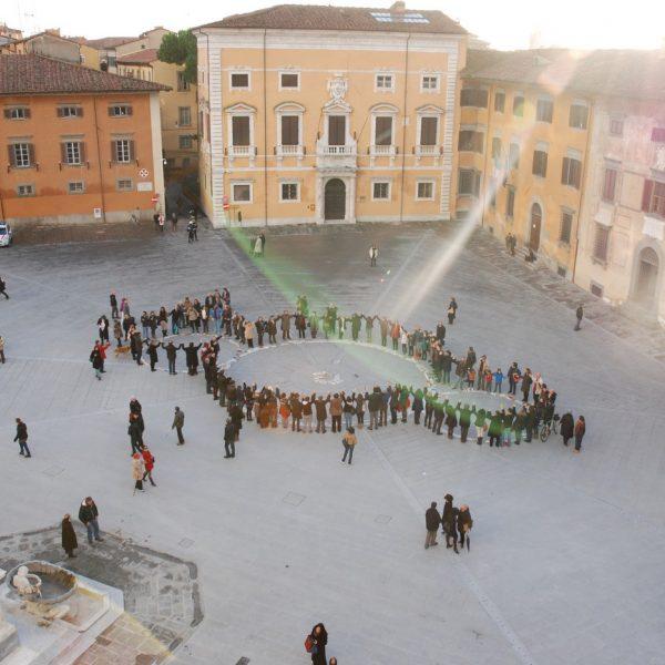 Michelangelo Third Paradise photo over plaza