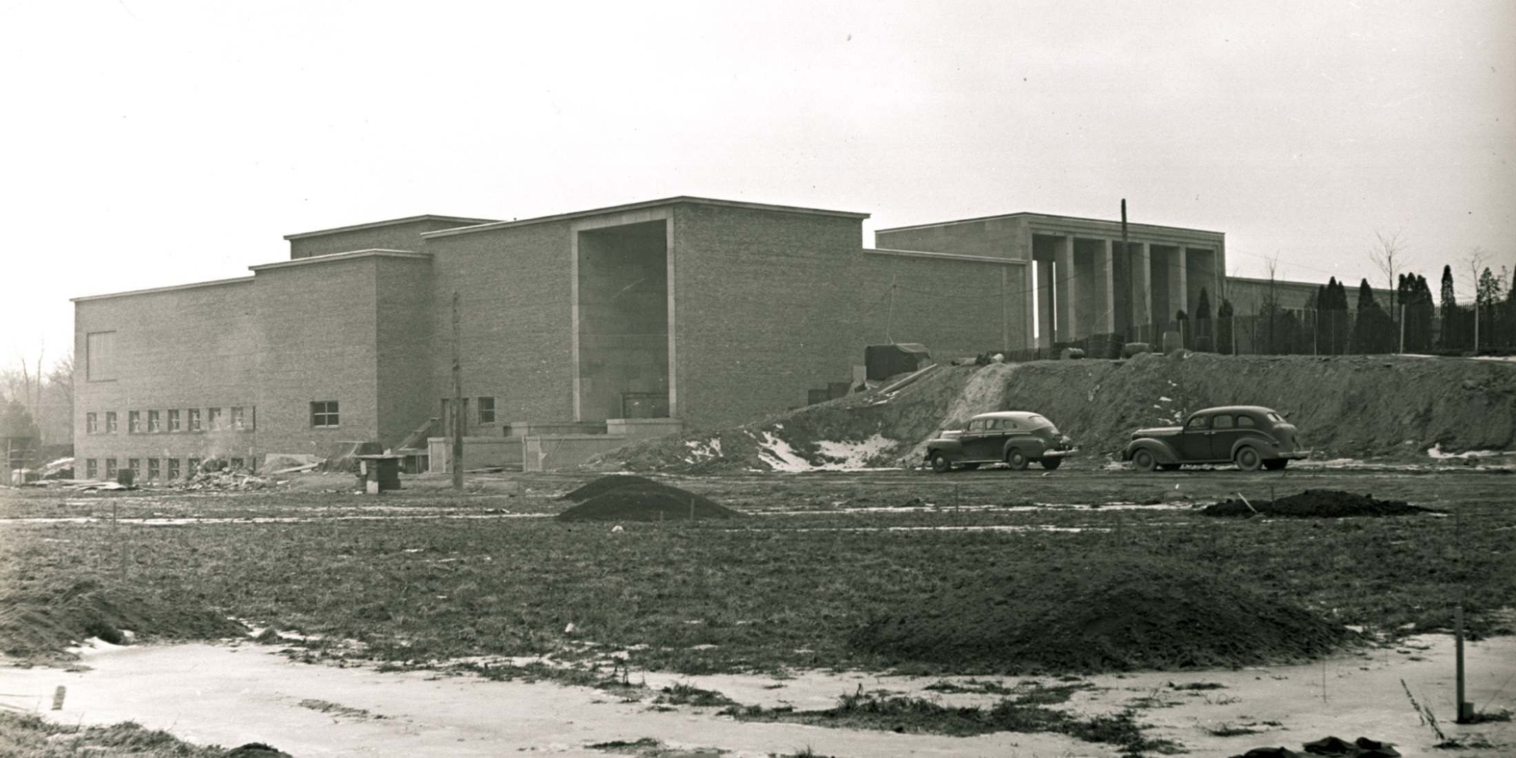 From the Archive - Museum Construction