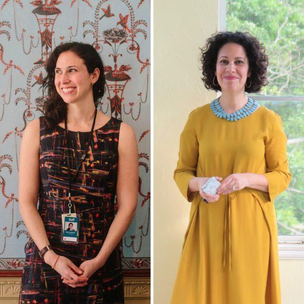 Co-curators Rachael Arauz and Diana Greenwold