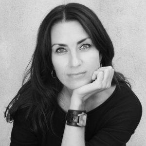 Katja Prins headshot in black and white
