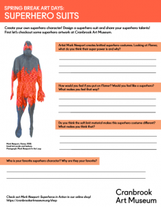 Superhero Activity Guide PDF Preview