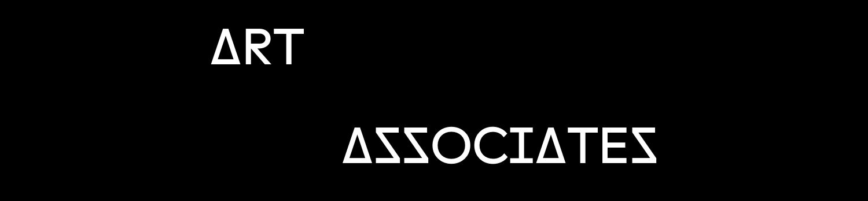 Art Associates in white text over black background