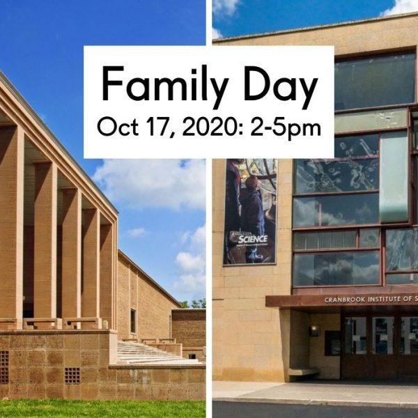 Cranbrook Museums Family Day