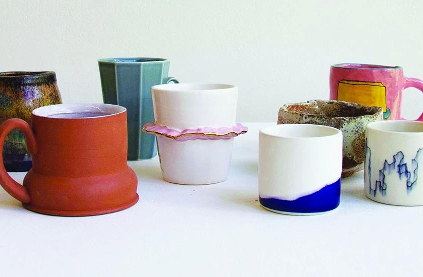 CAA Ceramics Cup Sale in ArtLab - Day 1